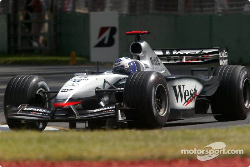 2003: David Coulthard, McLaren-Mercedes MP4-17D