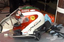 J.A. Policastro Jr.'s helmet