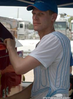 Jorg Bergmeister and his cool shirt