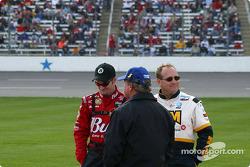 Dale Earnhardt Jr., Terry Labonte and Ken Schrader