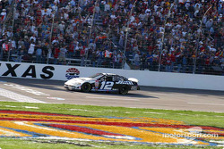 Ryan Newman takes the checkered flag
