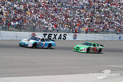 Jimmy Spencer and Bobby Labonte