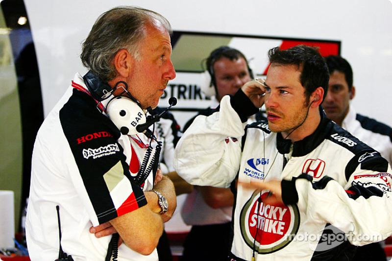David Richards and Jacques Villeneuve