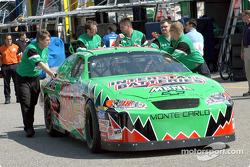 Joe Gibbs Racing crew members