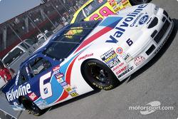 Old NASCAR cars exhibition