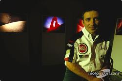 British artist Julian Opie brings together Art and Formula 1 racing