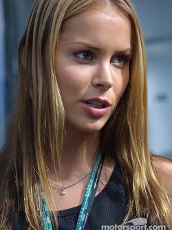 Jenny, Kimi Raikkonen's lovely girlfriend