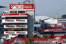 Tower at Circuit de Catalunya