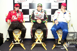 Dale Earnhardt Jr., Bobby Labonte and Tony Raines (top rookie of the race)
