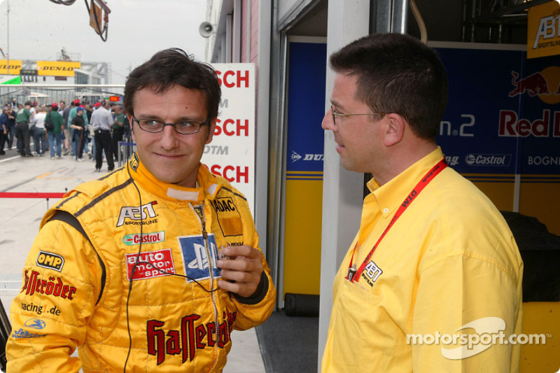 Christian Abt and Abt-Audi technical director Albert Deuring