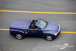 Chevrolet SSR official pace vehicle