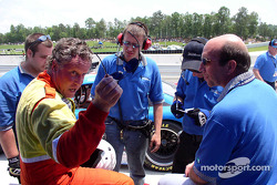 Tommy Riggins and Dave Machavern discuss Tommy's qualifying run