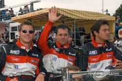 #12 JML Team Panoz Panoz LMP01: David Saelens, Benjamin Leuenberger, Scott Maxwell