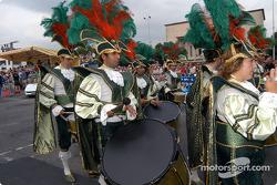 Samba musicians