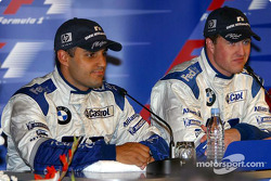 Conferencia de prensa: carrera ganador Ralf Schumacher y Juan Pablo Montoya