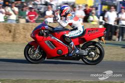 Mick Doohan on 1992 Honda NR750