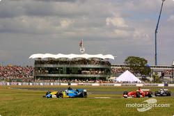 Jarno Trulli y Rubens Barrichello
