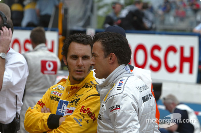 Laurent Aiello and Jean Alesi