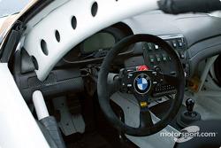 Interior of #6 PTG BMW M3