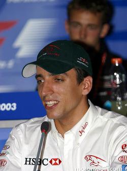 FIA press conference: Justin Wilson