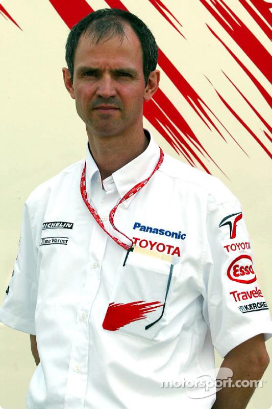 Rene Hillhorst de Toyota