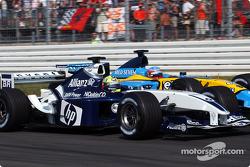Ralf Schumacher and Fernando Alonso