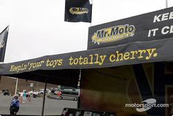 Mr. Moto sales booth
