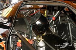 Interior of a Pro Stock car