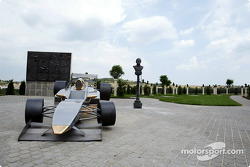 Formula One sculpture