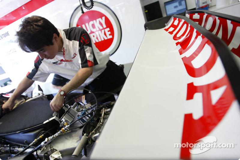 Mecánico de Honda