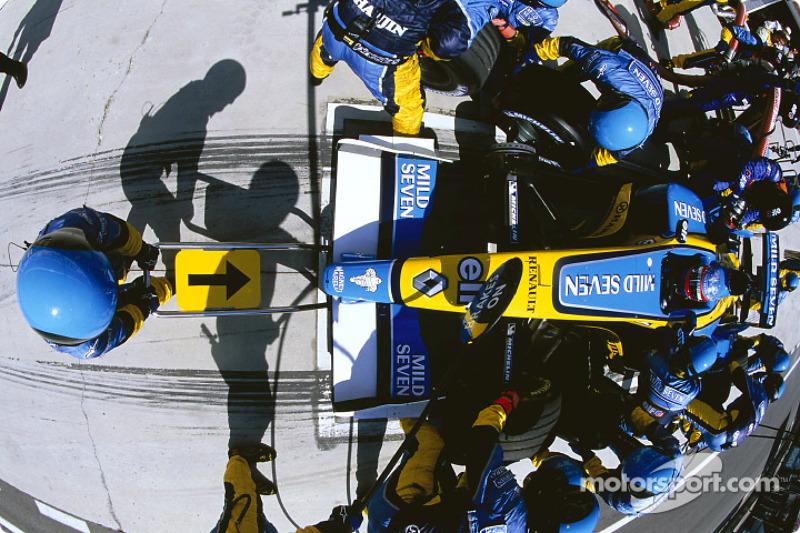 Práctica de PitStop en Renault F1