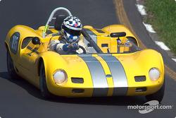 #195 1964 Elva Mk VIIs, ownedy by Lee Brahin