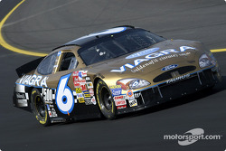 Mark Martin is sports a new gold paint job in honor of making his 500th consecutive NASCAR Winston Cup start