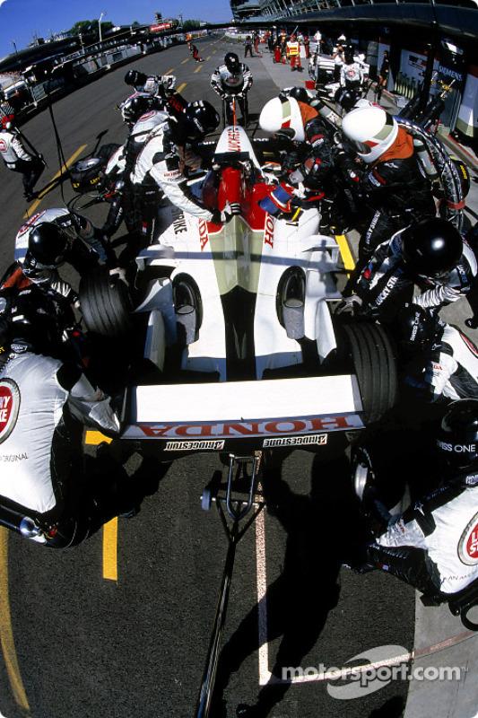 Práctica de PitStop en BAR Honda