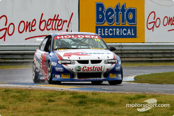 Andy Priaulx pushing the K-Mart Commodore