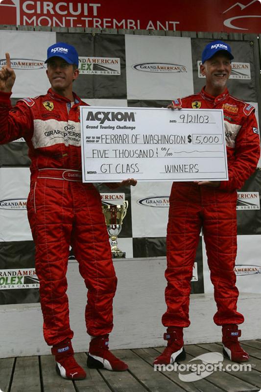 Cort Wagner et Brent Martini, vainqueurs du Grand Touring challenge