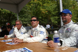 Drivers autograph session: Hurley Haywood, Max Papis and J.C. France