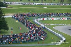 Multitud en el Indianapolis Motor Speedway