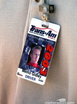 Memo Gidley's new Trans-Am hard card