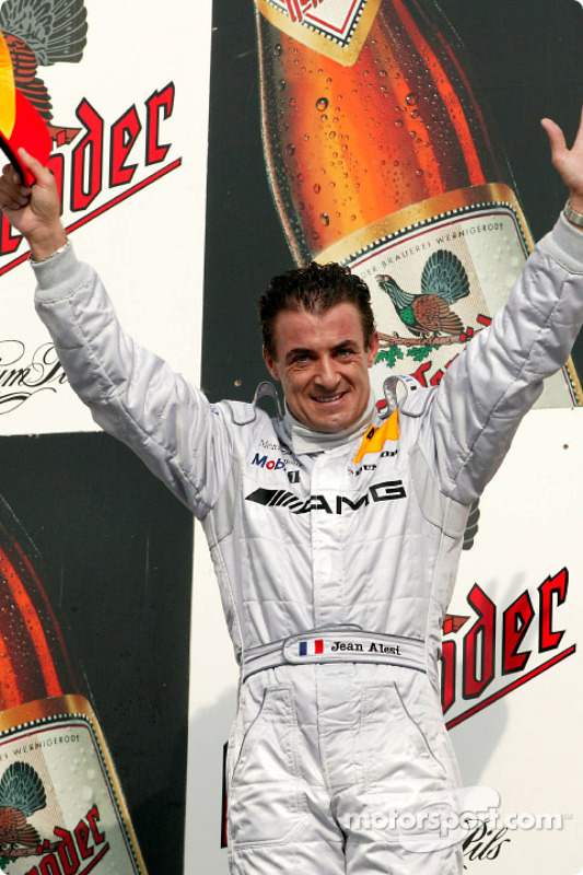 Podium : Jean Alesi, vainqueur
