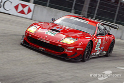 #80 Prodrive Ferrari 550 Maranello: Darren Turner, David Brabham