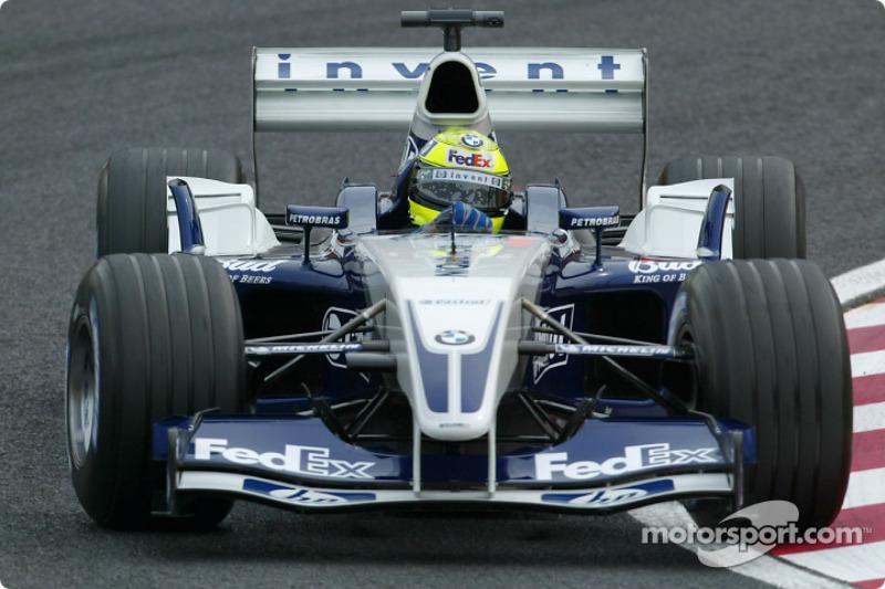 2003: 威廉姆斯FW24赛车