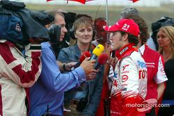 TV interviews for Cristiano da Matta