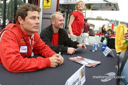 Autograph session: Anthony Lazzaro and Ralf Kelleners