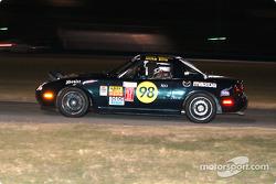 #98 Nuzzo / Ellis Motorsports Mazda Miata: Michael Ellis, Donald Jacobs