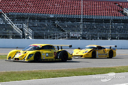 #9 Mears Motor Coach Ford Multimatic: Paul Mears Jr., Joe Varde, and #6 Gunnar Racing Porsche Gunnar GT1: Milt Minter, Chad McQueen, Gunnar Jeannette