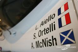 Detail of the 1998 Porsche 911 GT1
