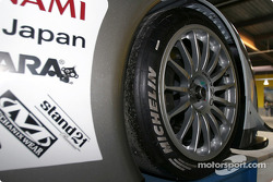 Detail of the #5 Audi Sport Japan Team Goh Audi R8