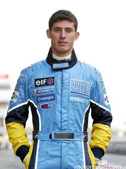 Renault F1 RDD driver Jose-Maria Lopez