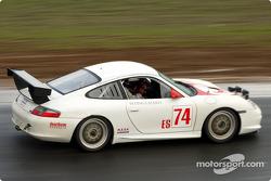 #74 Flying Lizard Motorsports: Craig Watkins, Tommy Sadler, Lonnie Pechnik, Seth Neiman, Johannes van Overbeek